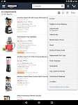 screenshot of Amazon for Tablets