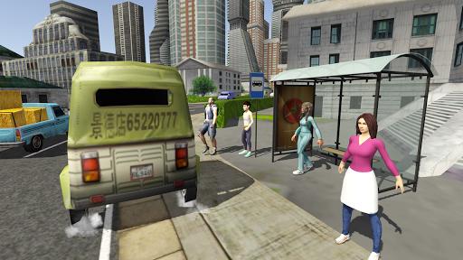 Tuk Tuk Rickshaw City Driving Simulator 2020  screenshots 4