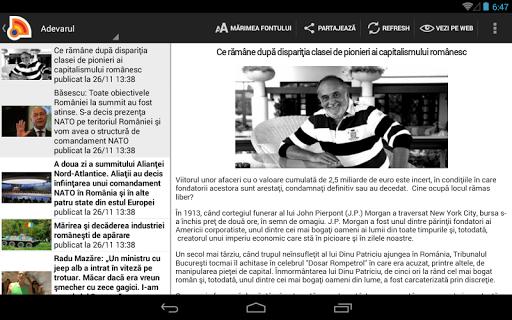Stiri din Romania 4.9.0 Screenshots 9