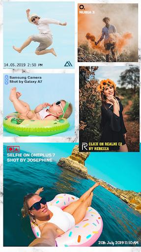 Shot On Stamp Photos with ShotOn Watermark Camera 1.3.1 Screenshots 2