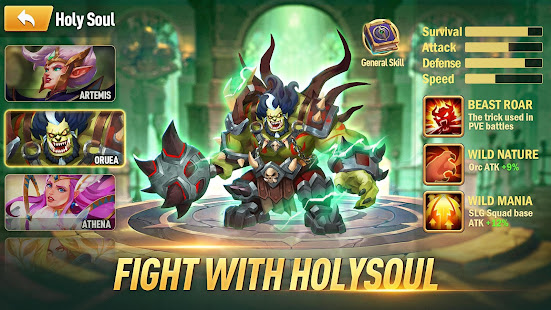 Mod Game Legion of Ace: Chaos Territory for Android