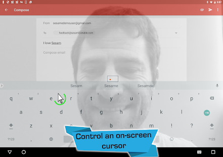 Open Sesame - Touch Free Control Screenshot