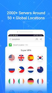 Super VPN MOD (Premium) 3