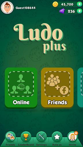 Code Triche Ludo Plus - New Ludo Game 2020 For Free APK Mod screenshots 1