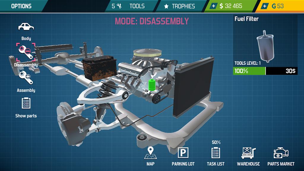 Car Mechanic Simulator 21: repair & tune cars  poster 23