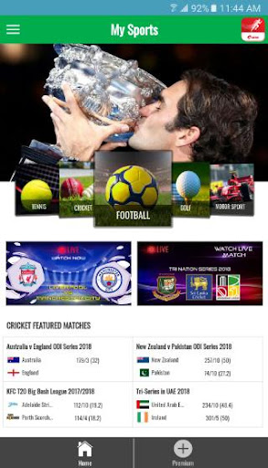 my sports - airtel screenshot 1
