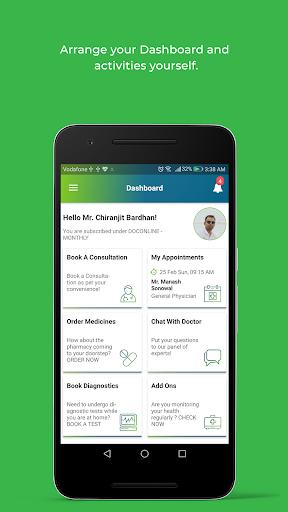 DocOnline - Online Doctor Consultation App modavailable screenshots 1
