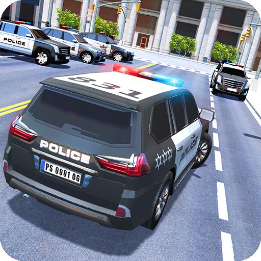 Luxury Police Car Icon