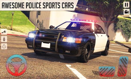 Real Police Car Simulator: Police Car Drift Sim android2mod screenshots 2