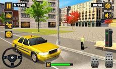 Taxi Driver 3D - Taxi Simulator 2018のおすすめ画像1