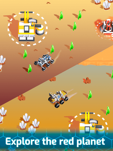 Space Rover: Idle planet mining tycoon simulator  screenshots 13