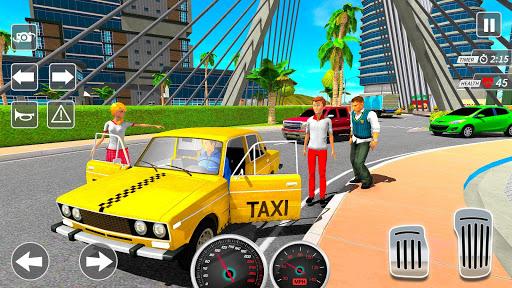 Taxi Driving Simulator City Car New Games 2021 0.3 screenshots 11
