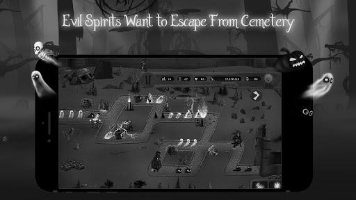 cemetery gates - tower defense screenshot 2