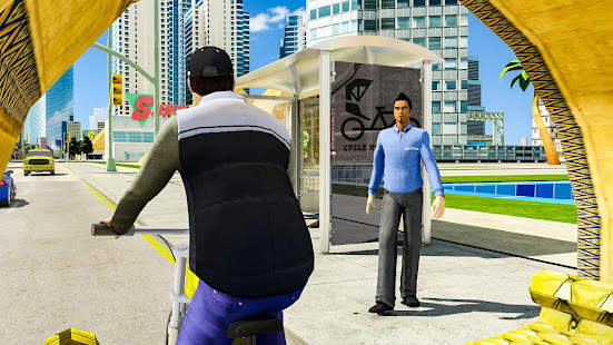 BMX Bicycle Taxi Driving City Passenger Simulator 1.2 Screenshots 12