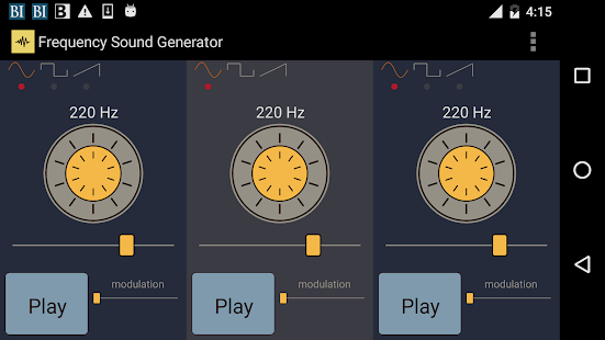Frequency Sound Generator
