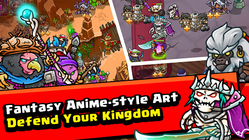 Crazy Defense Heroes: Tower Defense Strategy Game 2.4.0 screenshots 5