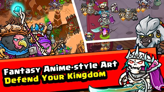 Crazy Defense Heroes: Tower Defense Strategy Mod Apk (Unlimited Resources) 5