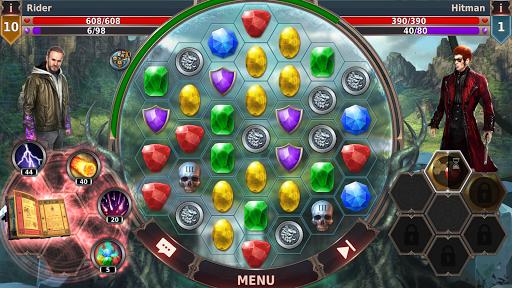 Gunspell 2 u2013 Match 3 Puzzle RPG  screenshots 5