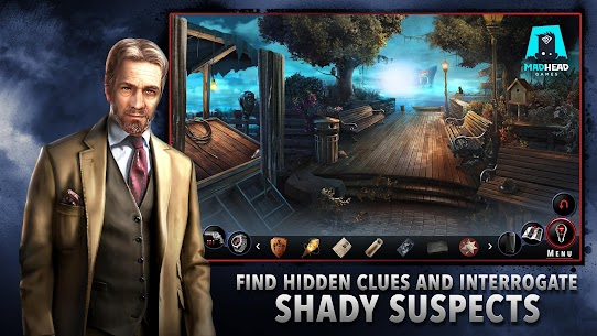 Adam Wolfe: Dark Detective Mystery Game (MOD, Paid) v1.0.0 1