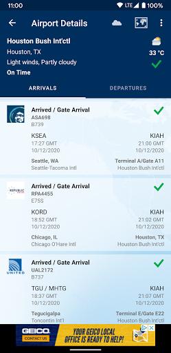 FlightAware Flight Tracker 5.6.6 Screenshots 5