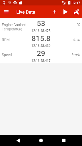 Piston (OBD2 & ELM327) 2.1.3 Screenshots 1