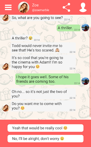 Hey Love Adam: Texting Game android2mod screenshots 11