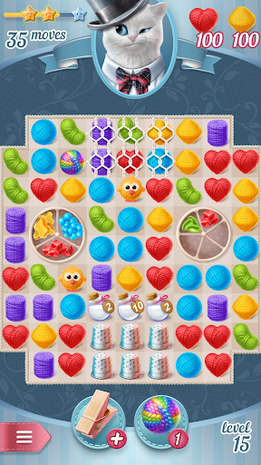 Knittens - A Fun Match 3 Game 1.47 screenshots 5