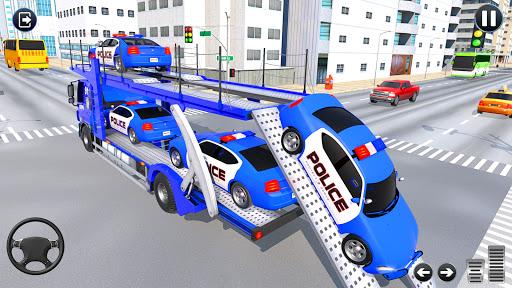 Grand Police Cargo Transport Truck:Car Parking Sim 1.0.2 screenshots 8