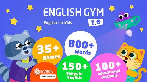 English Gym 2.0 healthy habits & English for kids APK MOD Download 1