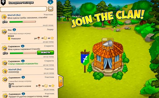 Forest Clans - Mushroom Farm  screenshots 8