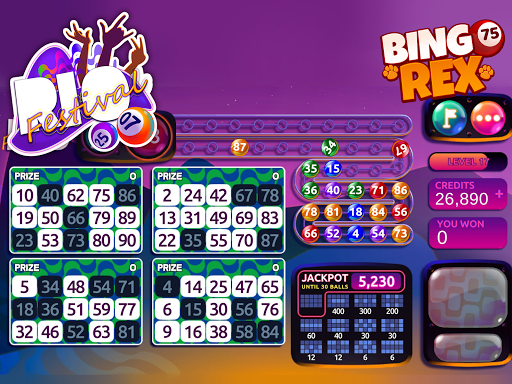 Bingo Rex - Your best friend - Free Bingo modavailable screenshots 13