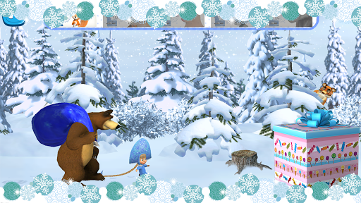 Masha and The Bear: Xmas shopping 1.1.3 Screenshots 9