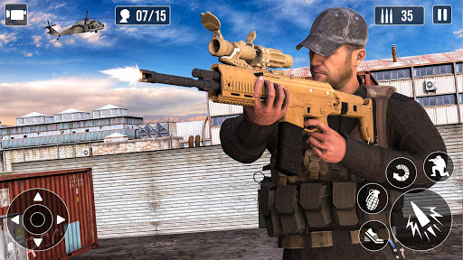FPS Shooting games :Army Shooting Games 3.6 screenshots 3