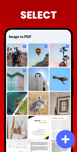 Image to PDF Converter - JPG to PDF, PDF Maker  screenshots 1