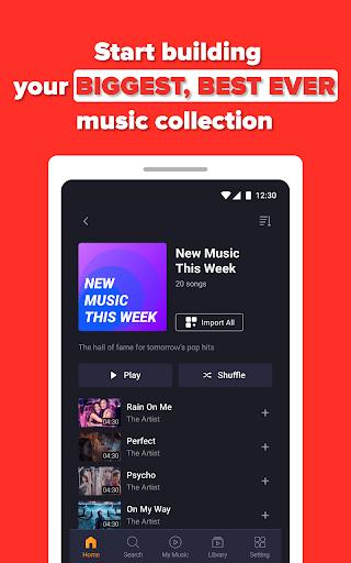 Free Music Streaming: Trending for Tube Music Song  screenshots 16