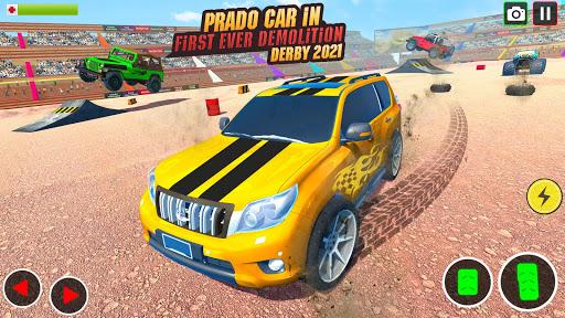Demolition Derby Prado Jeep Car Destruction 2021 1.4 Screenshots 9