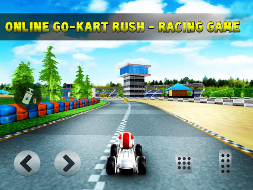 kart rush racing - 3d online rival world tour screenshot 1