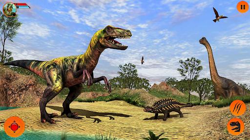 Real Dinosaur Simulator Games u2013 Dino Attack 3D 3.1 screenshots 6