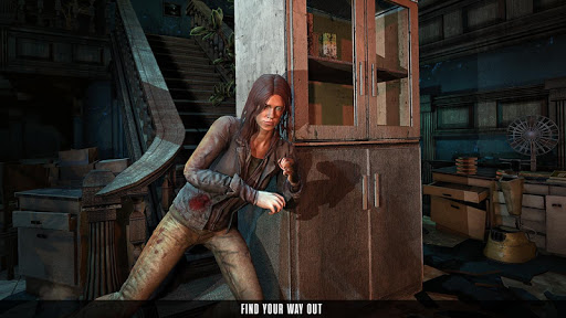 Scary Granny's Game - Haunted House Horror Games  screenshots 2