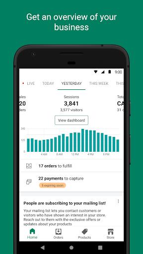 Shopify: Ecommerce Business 9.6.0 Screenshots 1