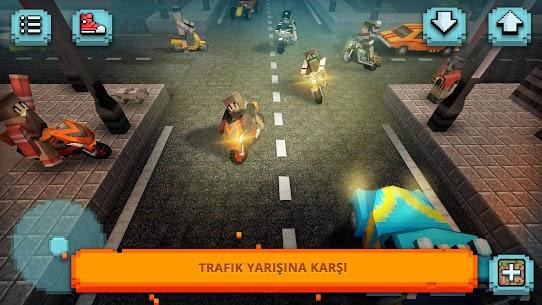 Motosiklet Yarışı Zanaat  Moto Oyunlar ve 3D Yapı Apk 2021 3