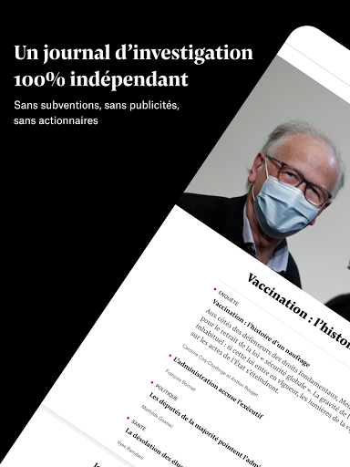 Mediapart, journal indu00e9pendant  Screenshots 11
