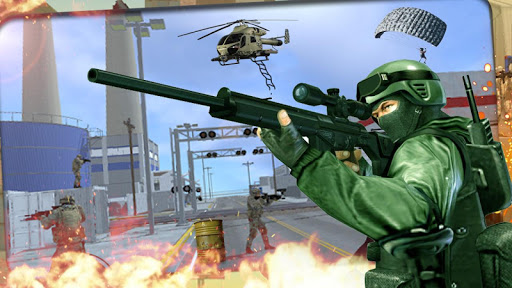 FPS Commando Secret Mission - Free Shooting Games android2mod screenshots 2
