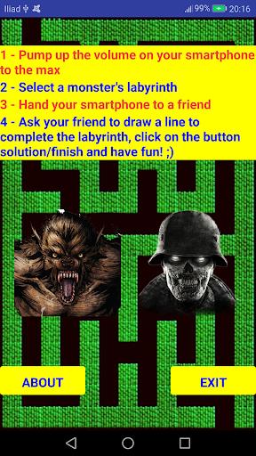 scary maze: labyrinth prank screenshot 2