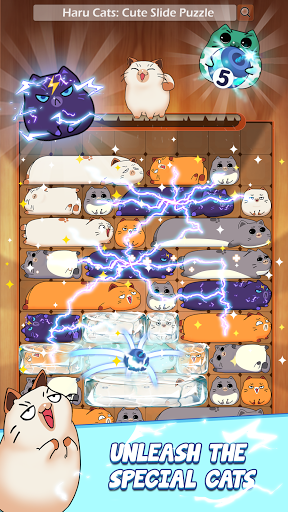 Haru Catsu00ae - Fun Slide Puzzle - Free Flow Zen Game Apkfinish screenshots 3