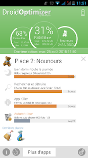 Droid Optimizer Capture d'écran