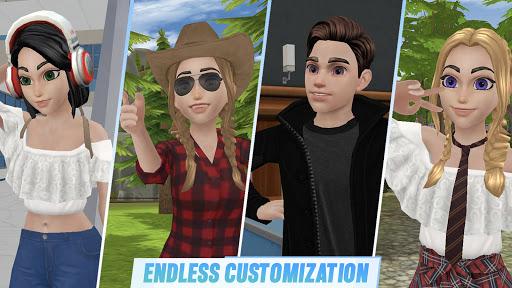 Virtual Sim Story: 3D Dream Home & Life screenshots 11