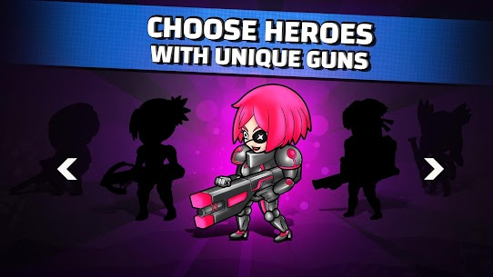 Neon Blasters Multiplayer Shooting Online Hack Game Android & iOS 4