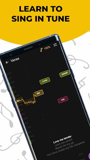 Singing app Vocaberry. Vocal training. Karaoke 2.11.2GMS Screenshots 1