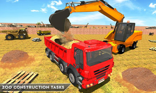 Simulateur De Construction De Zoo Animalier APK MOD – ressources Illimitées (Astuce) screenshots hack proof 2